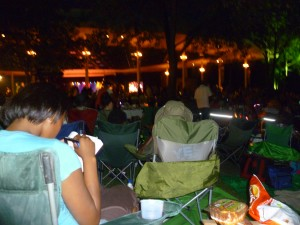 Neighbors enjoy a night out at Ravinia!