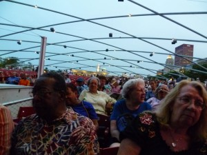 CANA Neighbors and business owners attend Ahmad Jamal concert at Millennium Park
