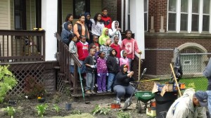 National Black MBA Association's Leaders of Tomorrow Team Leads Service Project in CANA Neighborhood