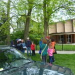 CANA and Oak Park Temple B'nai Abraham Zion Clean and Weed the Neighborhood on April 29th