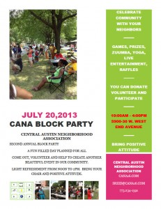 The BIG BLOCK PARTY is Back !!!! Saturday July 20th 10 AM – 4 PM